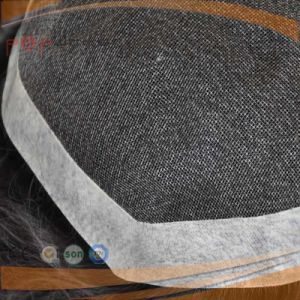 Full Poly Coated Perimeter Border Swiss Lace Full Human Hair Mens System, Toupee pictures & photos