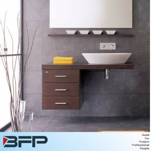 Modern Newest 2017 Discount Wall-Mounted Bathroom Vanity Cabinets pictures & photos