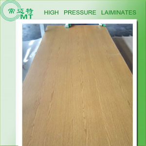 Wood Grain Laminate Kitchen Cabinets /High Pressure Laminate/HPL pictures & photos