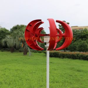 200W High Efficient Vertical Wind Turbine with Charge Controller pictures & photos