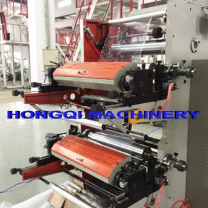 4 Colors Flexo Printing Machine with Doctor Blade pictures & photos
