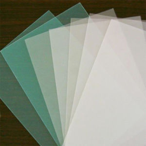 10mm White Frosted Plastic Polycarbonate Roof Sheeting pictures & photos