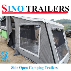 Soft Floor Side Open off Road Travel Trailers pictures & photos