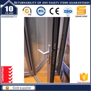 Australia Standard Tempered Aluminum Glass Balcony Folding Door pictures & photos
