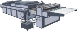 Ce Manual UV Coating Machine (SGUV-1400B) pictures & photos