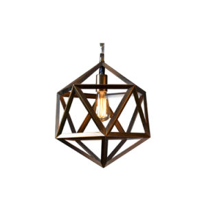 Loft European Large Size Steel Polyhedron Pendant Triangle Shaped Ceiling Pendant Light Oz-Al644 pictures & photos