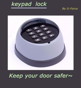 Secure Garage Door Keyboard Lock pictures & photos