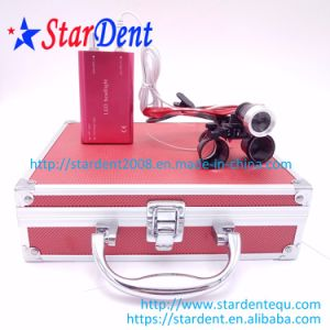 Dental 2.5/3.5X Color Magnification Binocular Surgical  Medical Loupes pictures & photos