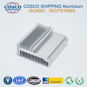 6063-T5 Aluminum Profile for Heatsink with Anodizing & CNC Machining pictures & photos