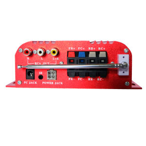 Newest Automatic Colorful Screen Super Power Amplifier Car Audio pictures & photos