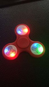 Fidget Spinner with LED Light pictures & photos