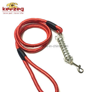 Heavy Duty Dog Rope Leash with Stainless Steel Buffer Spring (KC0110) pictures & photos