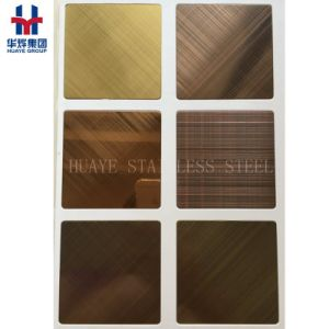 Stainless Steel Brass Copper Plated Sheets for Interior Decoration pictures & photos