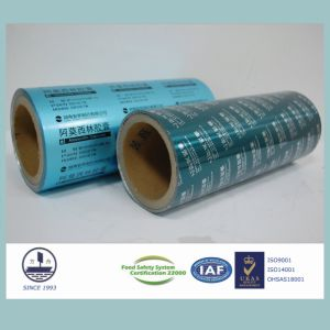 Aluminum Foil for Pharmaceutical Packaging Alloy 8011 H18 pictures & photos