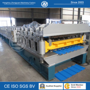 Nigeria Soncap Double Layer Roll Forming Machine pictures & photos