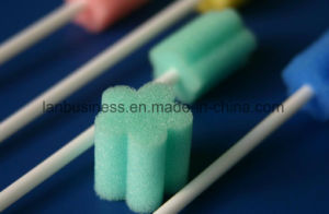 Oral Care Swabs Sponge Dental Brush pictures & photos