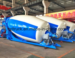 High quality 3-10 m3 concrete mixer tanker assembly pictures & photos