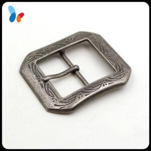 Custom Metal Zinc Alloy Pin Buckle Metal Belt Buckle pictures & photos
