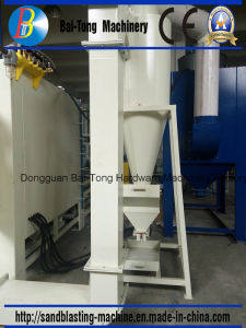 Automatic Workcar & Turntable Mould Cleaning Sandblasting Machine pictures & photos