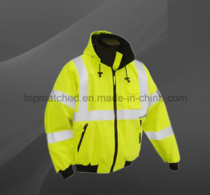 High Quality Men′s High Visibility Security Safety Reflective Jacket pictures & photos