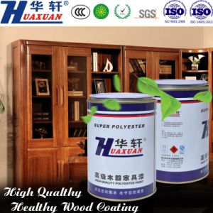 Huaxuan PU Yellowing Resistant Fullness Extra Glossy White Top Coat Wooden Furniture Paint pictures & photos