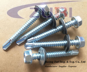 "Self Drilling Roofing Screw with EPDM Washer #14*2_1/2"" pictures & photos"