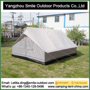 Big Camping Cheap Disaster Relief Family Unhcr Military Canopy Tent pictures & photos