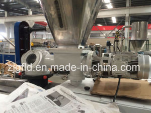 Conical Twin-Screw Plastic Extruding Machine (SJSZ) pictures & photos