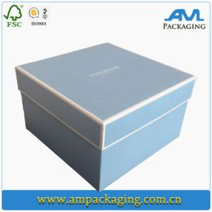 Wholesale Wedding Invitations Card Silk Boxes Gift Box with Lid pictures & photos