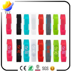 Customized Logo Green Material Wrist Band pictures & photos