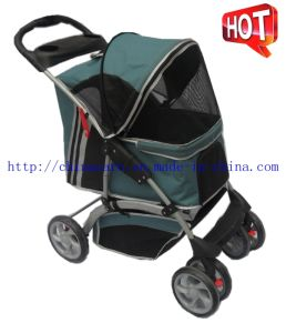 Luxury Pet Supply 4 Wheels Outdoor Carrier Pet Stroller Bb-PS03 pictures & photos