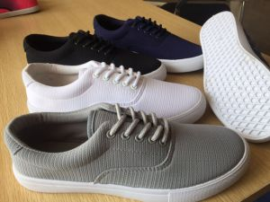 Van S Shoe Sole Color Matching Canvas Women Men School Shoe Ladies pictures & photos
