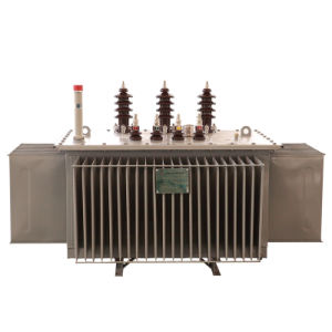 Sh15 10kv Three Phase Oil-Immersed Full-Sealing Amorphous Alloy Energy-Saving Power/Distribution Transformer pictures & photos
