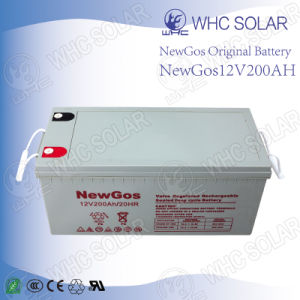 Deep Cycle 12V200ah AGM Batteries Home for Wind Power Supply pictures & photos