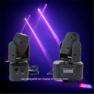 DJ Pub KTV 10W RGBW LED Mini Moving Head Beam Light pictures & photos