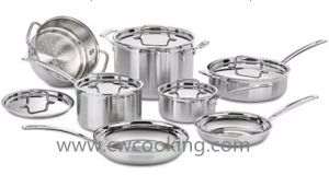 12PCS Ss Cookware Set pictures & photos