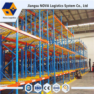 Electrostatic Power Coating Heavy Duty Gravity Pallet Racking pictures & photos
