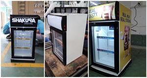 Beverage Cooler, Countertop Mini Fridge with Glass Door pictures & photos
