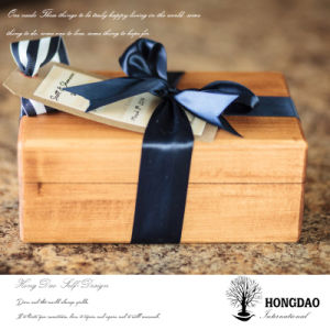 Hongdao Custom Design Wooden Jewellery Gift Packaging Box Wholesale_L pictures & photos