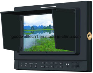 "1280x 800 7""LCD Monitor with 3G-Sdi, HDMI, YPbPr Input, IPS Panel pictures & photos"