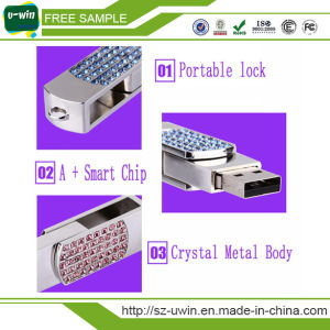 Fashionable Promotional Jewelry Flower USB Flash Drive pictures & photos