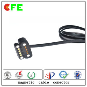 China Customized 2pin Waterproof Magnetic Power Connector pictures & photos
