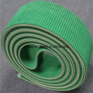 Green Rubber Rough Conveyor Belt for Inclining pictures & photos