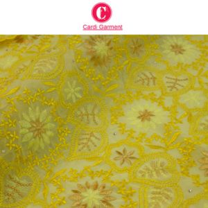 Latest Design Cotton Fabric/ Swiss Voile Lace pictures & photos