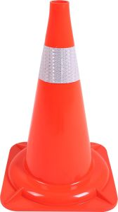 PVC 470mm High Quality Plastic Cone with 90mm Reflective Bands pictures & photos