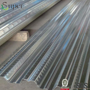 Steel Galvanized Corrugated Metal Joists Opened Type Floor Decking Sheet pictures & photos