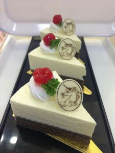Sweet Cartoon Shape Cake Decoration Chocolate pictures & photos