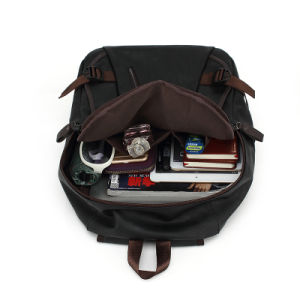 Travel and Casual Backpack with PU for Man (8103) pictures & photos