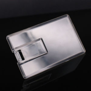 New Transparent Card Type USB Flash Drive pictures & photos