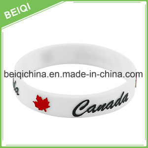 Personalized Rubber Silicone Bracelets pictures & photos